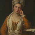 Mrs. Horton, Later Viscountess Maynard by Joshua Reynolds