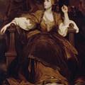 Mrs Siddons As The Tragic Muse by Joshua Reynolds
