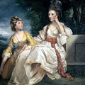 Mrs Thrale And Her Daughter Hester by Sir Joshua Reynolds