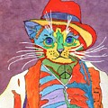 Mr.wisker For Peace by Connie Valasco
