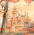 Msu Linton Hall  by Robert Brent