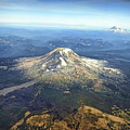Mt. Adams In Washington State by Daniel Hagerman