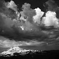 Mt. Baker Thunderstorm. by Alasdair Turner