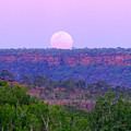 Mt Barnett Moon by Tom Keating