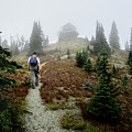 Mt Brown Lookout - Glacier National Park by Bruce Lemons
