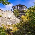 Mt. Cammerer Observation Tower by Bob Carr