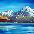 Mt Cook New Zealand by Ira Mitchell-Kirk