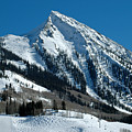 Mt Crested Butte by Teresa Blanton