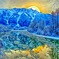 Mt Currie Fantasy by Dave Steers