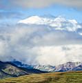 Mt Denali In The Clouds by Joni Eskridge