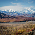 Mt Denali View From Eielson Visitor Center by Eva Lechner
