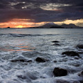 Mt. Edgecumbe Sunset by Mike  Dawson