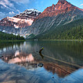 Mt. Edith Cavell Sunrise Reflections by Adam Jewell