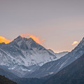 Mt Everest In The Morning by Adrian O Brien