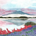 Mt. Fuji Morning by Terri Harris