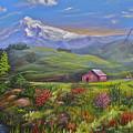 Mt Hood Fantasy Farm by Mary  Leiseth
