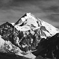 Mt Huayna Potosi In Monochrome by James Brunker