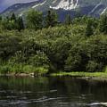Mt. Katahdin  by John Zawacki