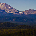 Mt Lassen And Chaos Crags by Albert Seger