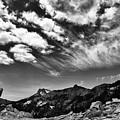 Mt. Lassen B W by Digiblocks Photography