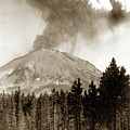 Mt. Lassen In Eruption Oct. 6, 1915 by California Views Archives Mr Pat Hathaway Archives
