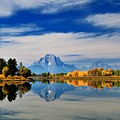 Mt. Moran by Dongin Lee