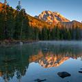Mt. Moran From String Lake by Steve Stuller