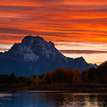 Mt. Moran Sunset by Steve Stuller