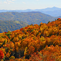 Mt. Pisgah From Crabtree Bald by Alan Lenk