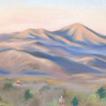 Mt. Pisgah Morning Over Asheville by MM Anderson