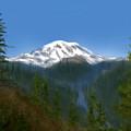 Mt Rainier by Becky Herrera