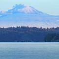 Mt. Rainier From Manchester by E Faithe Lester