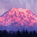 Mt. Rainier by Jim And Emily Bush