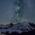 Mt Rainier Milkway Climbers by Arun Rohila