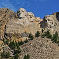 Mount Rushmore-2 by Thomas J Rhodes