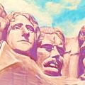 Mt Rushmore by Kean Butterfield