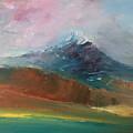 Mt Shasta 10 by Pusita Gibbs