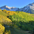Mt. Sneffels From County Road 7 by Ray Mathis