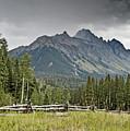 Mt Sneffels In The Colorado Rocky Mountains by Brendan Reals