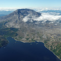 Mt. St. Helens Aerial 2225 by David Mosby