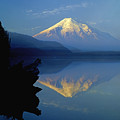 1m4907-v-mt. St. Helens Reflect V  by Ed  Cooper Photography