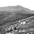 Mt Tam From The Tiburon Hills 1975 by Ben Upham III