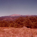 Mt Taylor In New Mexico  by Ruth Housley