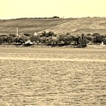 Mt Trashmore In Sepia by Rob Hans