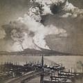 Mt. Vesuvius Erupting by Granger