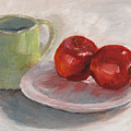 Mugging For Apples by Mary Benke
