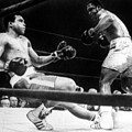 Muhammad Ali Knocked Down By Joe by Everett