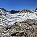 Muir Pass Panorama From High Above - John Muir Trail by Bruce Lemons