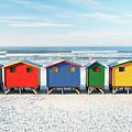 Muizenberg Beach Huts 2 by Neil Overy