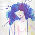 Mujer En Acuarela by Ivonne Sequera